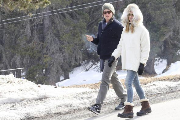Sin importar el frío dieron una larga caminata.
