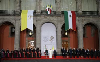 Francisco en Palacio Legislativo