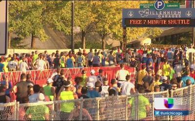 Todo un éxito el maratón de Chicago