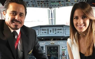 Nos metimos a la cabina de un avión y su piloto nos explicó cómo se vuela