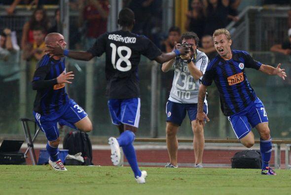 Y debió haber sido un trago amargo para Totti y compañía cuando los visi...