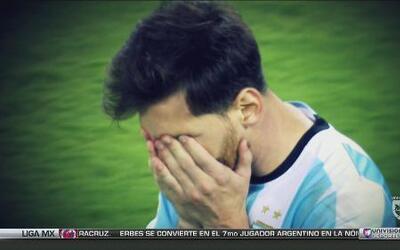 Comparamos las despedidas entre Maradona y Messi