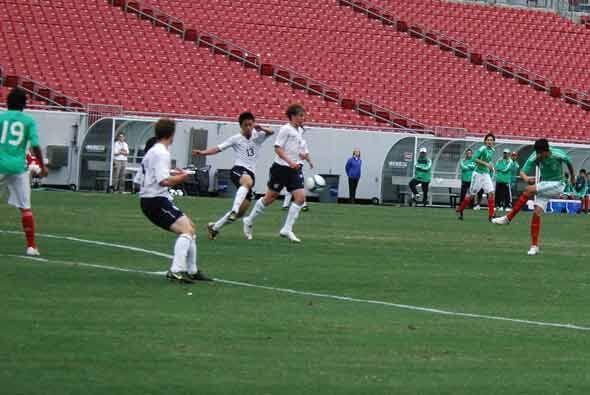 La selección mexicana sub-17 viene de quedar tercera en un torneo...