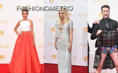 Fashionometro: Los vestidos que causaron furor en los Emmy Awards... ¡y...