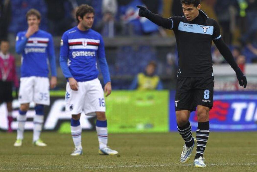 Y cómo no festejar así pues Hernanes hizo el único gol para que el cuadr...