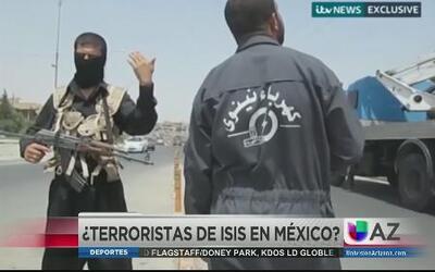 Terroristas de ISIS estarían en México