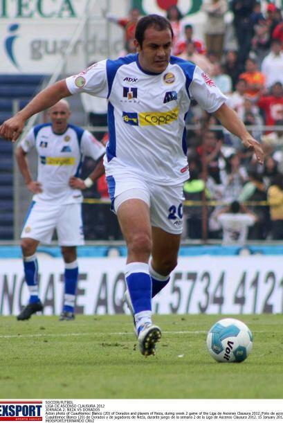 En la primera edición de la Copa MX, Blanco fue pieza fundamental...