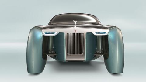 Rolls-Royce Vision Next 100, el futuro del auto de lujo según Rolls-Royce