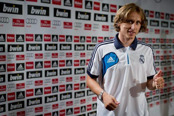 Modric llega no en el mejor momento del Real Madrid, pero espera aportar...