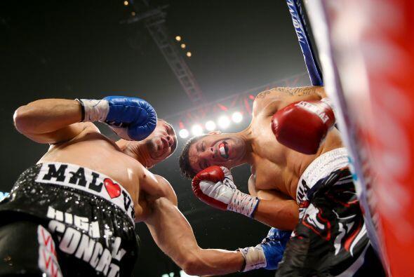 La peleade Soto y Molina fue la mejor de la velada