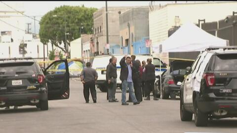 Un par de incidentes causaron conmoción en el centro de Los Ángeles