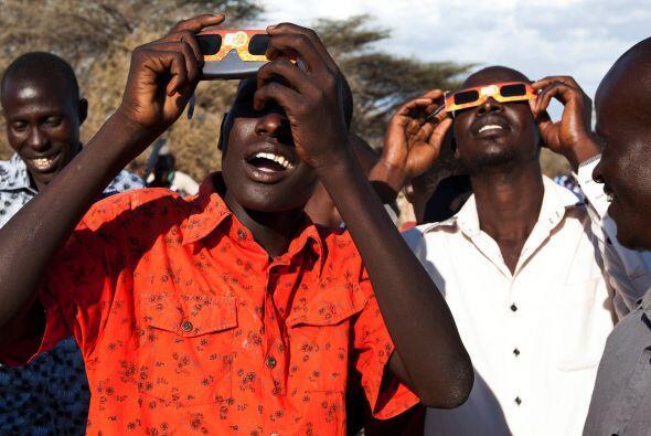En la capital keniana, Nairobi, por ejemplo, la ocultación no fue total.