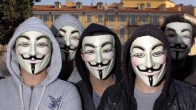 El colectivo de piratas informáticos publicó informaciónquela Unidad F...