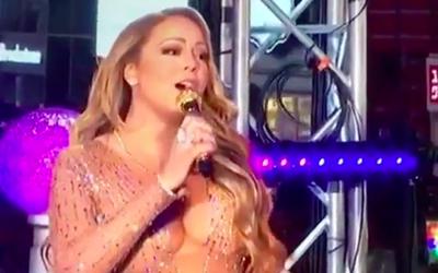 Mariah Carey intentó cumplir, pero alegó problemas con el...