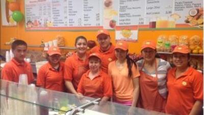Heladería y frutería Los Mangos // Foto tomada su cuenta de Facebook.
