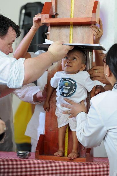 Durante la ceremonia estuvieron presentes cerca de 100 habitantes y peri...