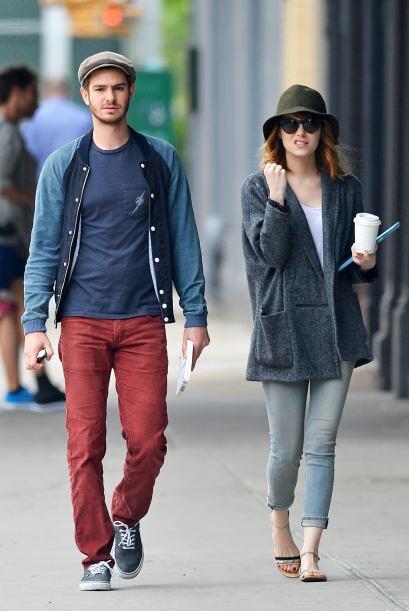 Juntos disfrutaban de un paseo por las calles de Nueva York, ciudad en l...
