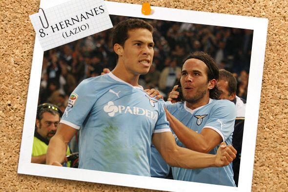 El brasileño Hernanes ya es un clásico de esta sección.