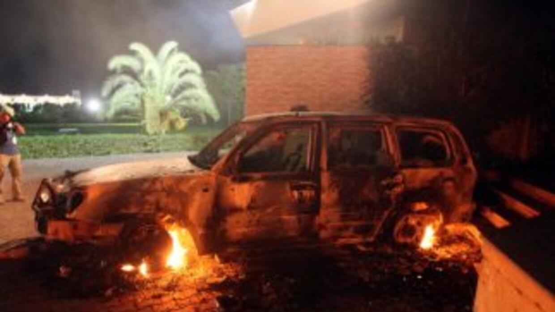 En el atentado perpetrado el 11 de septiembre de 2012, falleció el embaj...