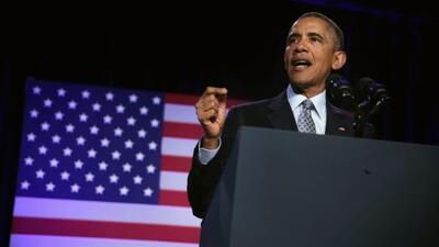 Obama aseguró que será agresivo para lograr la implementación de la acci...