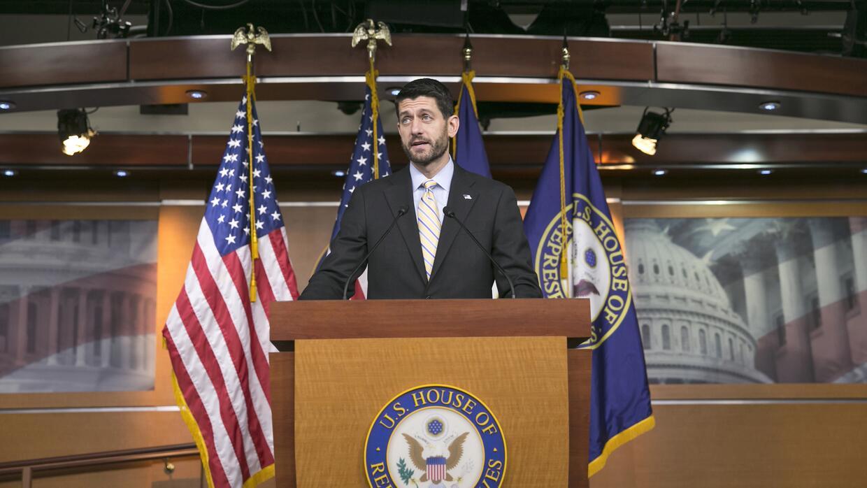 Paul Ryan anuncia acuerdo presupuestario
