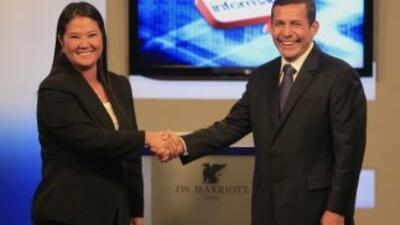 Según los sondeos ambos candidatos se encuentran en un empate técnico.