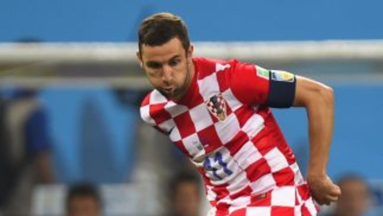 A Darijo Srna tampoco le gustó el arbitraje ante Brasil.
