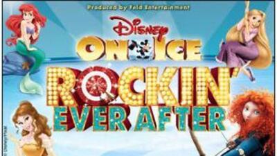 ¡El patinaje sobre hielo interpretado por los personajes de Disney al ri...
