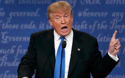 Donald Trump fue el candidato que más menciones obtuvo en redes sociales...