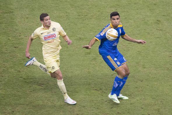 24; Rivas: El defensa centra de Tigres supo mantener controlado a Oribe...
