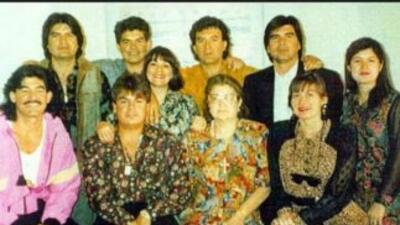 Una fotografía de la familia Arellano Félix. Imagen tomada de Twitter.