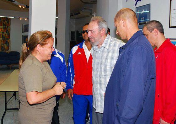 Además saludó a Celia Guevara, hija del legendario revolucionario Ernest...