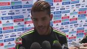 Jonathan dos Santos: 'Somos favoritos y lo tenemos que demostrar en el c...