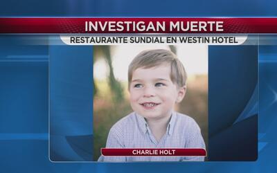 Investigan la muerte de un niño en un famoso restaurante
