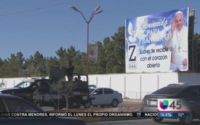 Mensaje del papa en Ciudad Juárez, ¿punto de partida para un cambio?