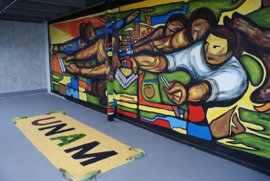 Y qué decir de las muestras del muralismo mexicano revolucionario, como...