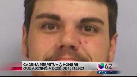 Sentenciado a cadena perpetua por matar a un bebé
