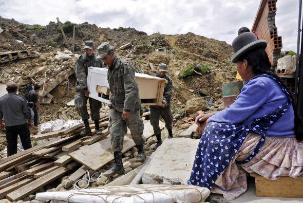 Valle de las Flores, Kupini y Callapa son los más afectados ya que se en...
