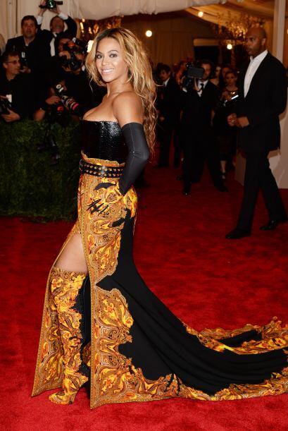 Beyoncé no parecía salida de una película de terror...
