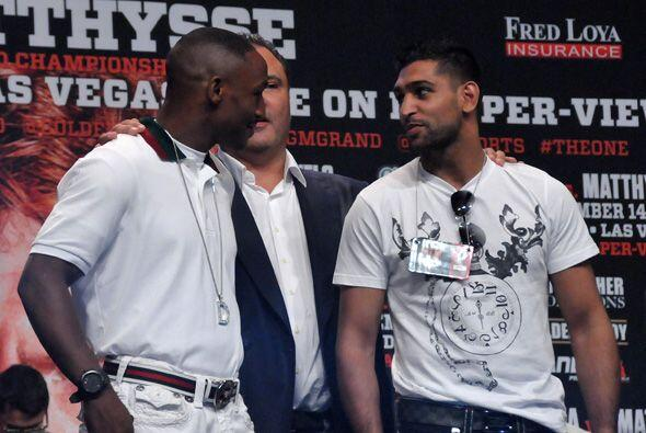 También presntaron la pelea entre Devon Alexander y Amir Khan, aún por f...