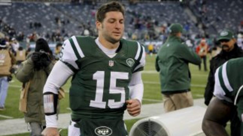 Tim Tebow fue cortado por los Jets.