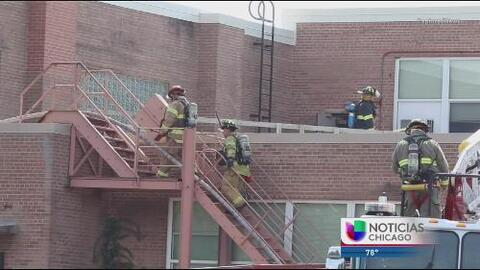 Investigan incendio en la secundaria Crystal Lake Central