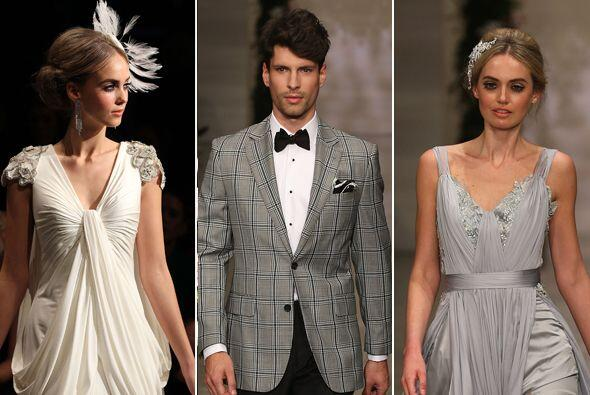 Si aún no eliges tu vestido de novia, el de las damas de honor y...