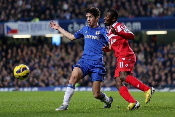 Pero la ofensiva del Chelsea se encontró con un cuadro que realizó excel...