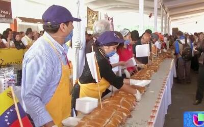 México rompe récord con el sandwich más grande del Mundo