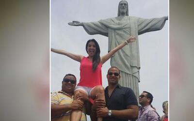Maity disfrutó el carnaval y las playas de Río de Janeiro camino al Mund...