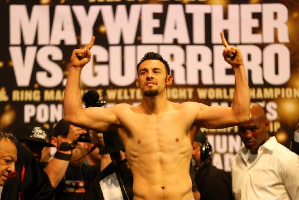 Mientras que Guerrero lo hizo en las 147 libras.