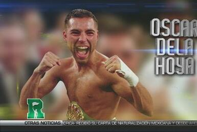 Mes de la Hispanidad: Oscar de la Hoya