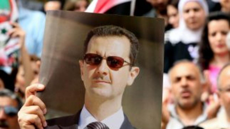 El presidnete sirio, Bashar Al-Assad.