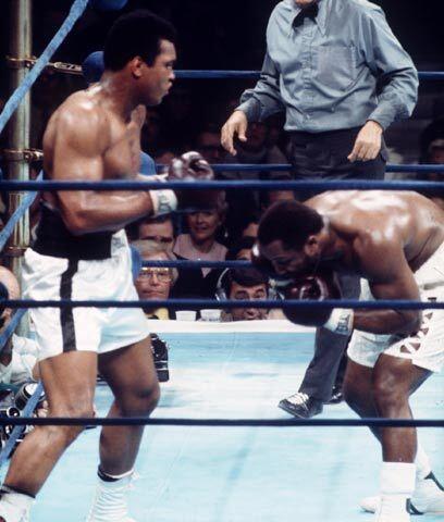 Emoción en ManilaEn enero del 74 Ali y Frazier volvieron a pelear...